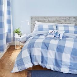Easy care king duvet and pillow set 220 x 230cm + 2 50 x 75cm