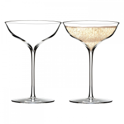 Elegance Collection Pair of champagne belle coupes