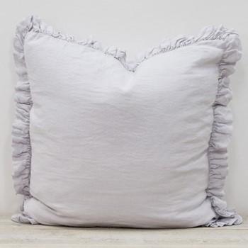 Ruffle cushion W65 x L65cm