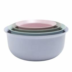 Jens Fager Set of 4 measuring bowls, blue