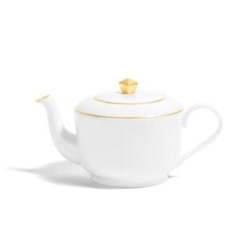 Line - Colour Medium teapot, H11.5cm - 660ml, metallic gold