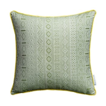 Halsey Cushion, 50 x 50cm, green yellow