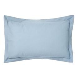 200TC Plain Dye Oxford pillowcase, L74 x H48cm, sky