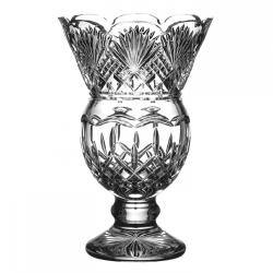 "Lismore Thistle vase, 13"""