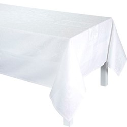 Siena Tablecloth, 175 x 380cm, white