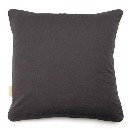 Osmosi Arrancione Kaleidoscope Square velvet cushion, W49 x H49 cm, Orange