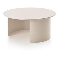 Plateau Coffee table, 72 x 32 x 72cm, sand/ash