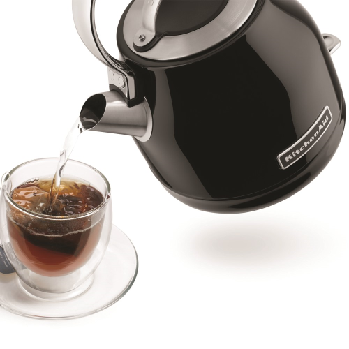 Traditional Dome kettle, 1.25 litre, onyx black