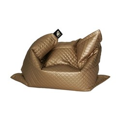 Junior - Quilted Beanbag, 140 x 110cm, gold