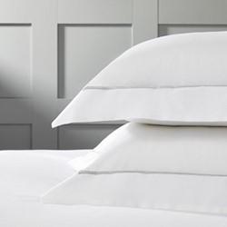 Savoy - 400 Thread Count Super king size oxford pillowcase, 50 x 90cm, silver