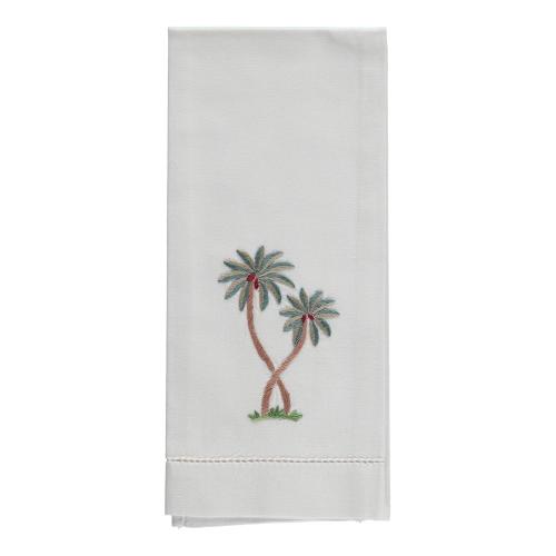 Palm Hand towel, 38 x 58cm, Cotton