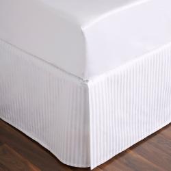Millennia 1200TC Super king size fitted sheet, 180 x 203cm, snow