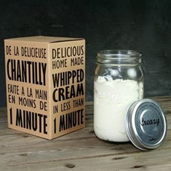 Creazy Whipping cream shaker