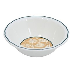 Dominoté - Indiennes Pair of extra large cereal bowls, 18cm - 63cl