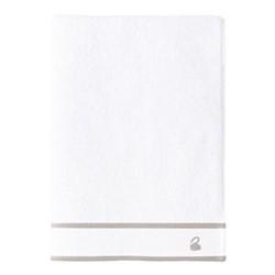Flandre Bath towel, 70 x 140cm, pierre
