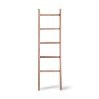 Hambledon Towel ladder, raw oak