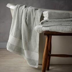Egyptian Cotton Bath towel, 70 x 127cm, duck egg