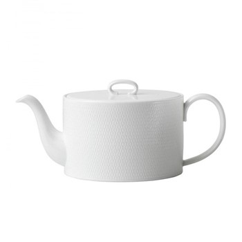 Gio Teapot, white/ bone china