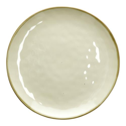 Concerto Pair of round platters, Dia32cm, Ivory