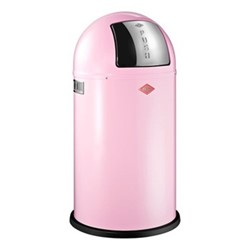 Pushboy Bin, H76 x W40cm - 50L, pink