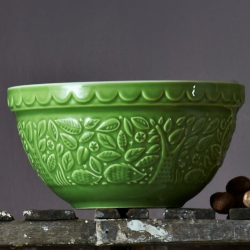In The Forest Hedgehog Mixing bowl, 21cm, Green