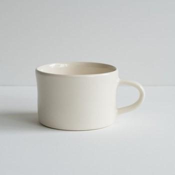 Plain Wash Set of 6 mugs, H7 x W10.5cm, cream