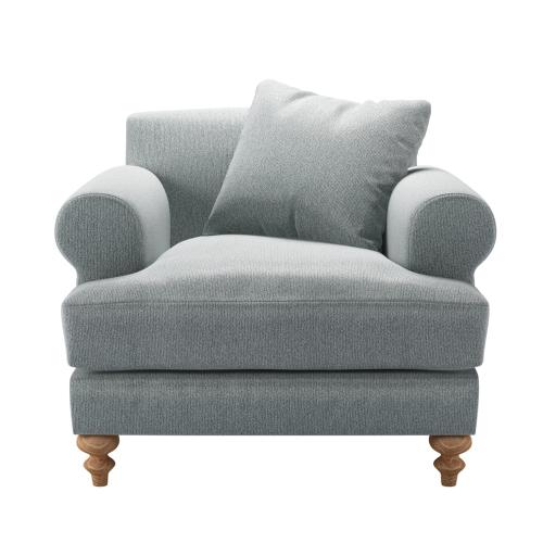 Teddy Armchair, H88 x W96 x D115cm, Cirrus