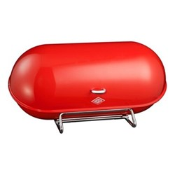 Breadboy Bread bin, H21 x W44 x D23cm, red