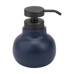 Uma Soap dispenser, Dia11 x 14.3cm, indigo