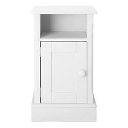 Charterhouse Bedside cabinet, H72 x W42 x D35cm, silk white