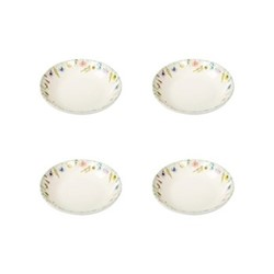 Set of 4 side dishes W15.5 x H3.5cm