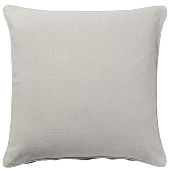 Linen cushion cover, 51cm, eau de nil