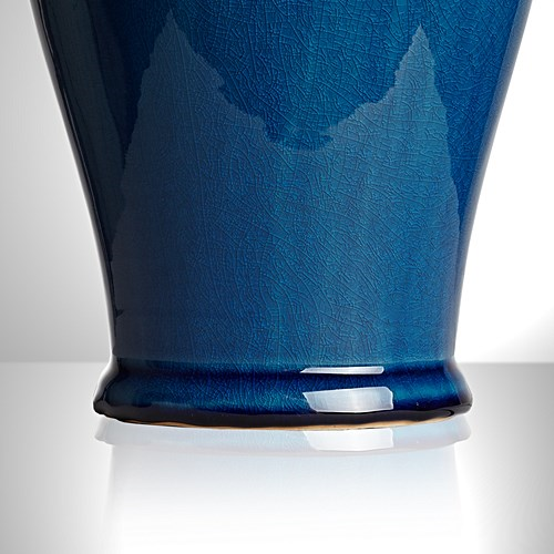 Lolita Medium table lamp - base only, H44 x W18cm, Turquoise