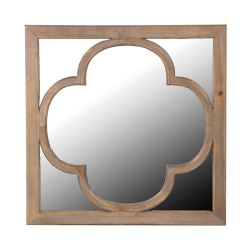 Mirror, 60 x 60cm, Wooden Relief