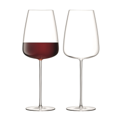 Wine Culture Pair of red wine grand glasses, 800ml, clear