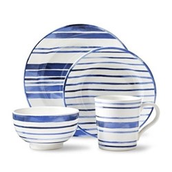 Cote D'Azur Stripe Dinnerware