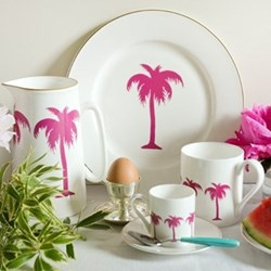 Palm Tree Dinnerware