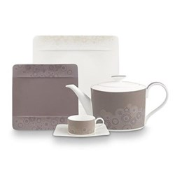 Modern Grace Grey Dinnerware