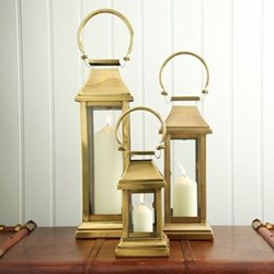 Station Brass Lanterns
