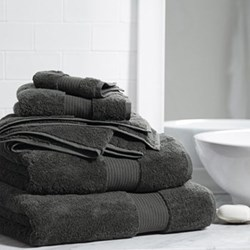 Egyptian Cotton Pewter Towels