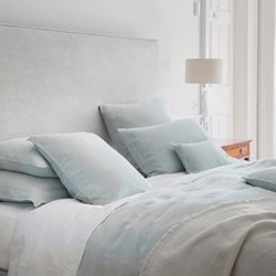 Moustier Duck Egg Bed Linen