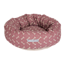 Bones Heather Donut Dog Beds