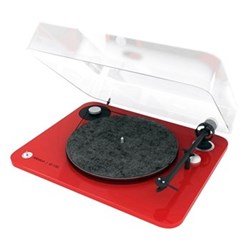 Omega 100 Red Lacquered Turntables
