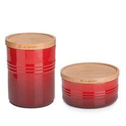 Cerise Storage Jars