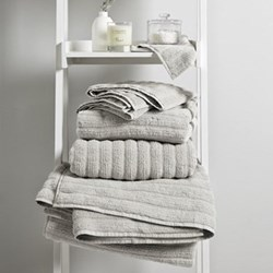 Hydrocotton Pearl Grey Towels