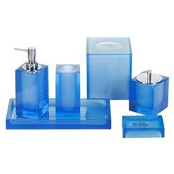 Hollywood Blue Bathroom Accessories