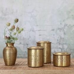 Nami Brass Pots