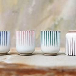 Uka Stripe Cups