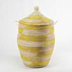 Ali Baba Yellow Laundry Baskets