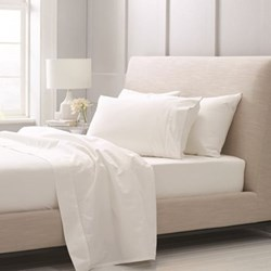 1000TC Cotton Sateen Snow Bed Linen